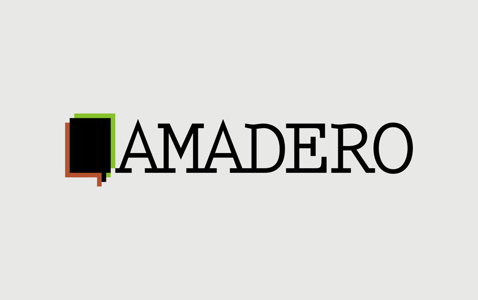 Amadero - logo on white